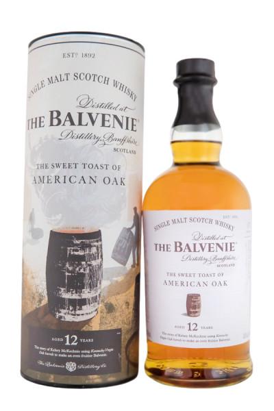 Balvenie 12 Jahre American Oak - 0,7L 43% vol