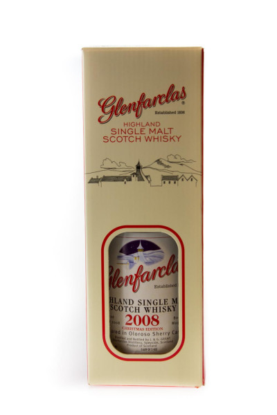 Glenfarclas 2008 Christmas Edition Single Malt Scotch Whisky - 0,7L 46% vol