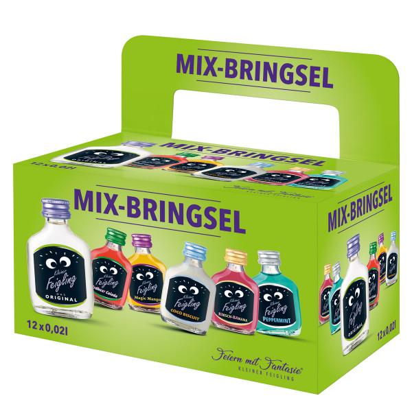 Mix-Paket [12 x 0,02L] Kleiner Feigling Mix-Bringsel - 0,24L 15,8% vol