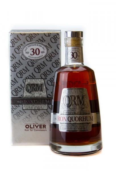 Ron Quorhum 30 Jahre Solera Rum - 0,7L 40% vol