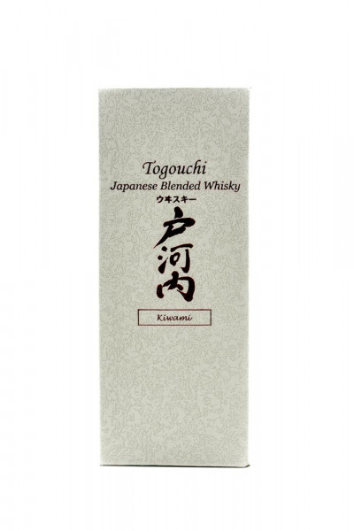Togouchi Kiwami Japanese Blended Whisky - 0,7L 40% vol