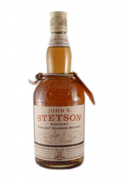 Stetson John B. Straight Bourbon Whiskey - 42% vol - (0,7L)