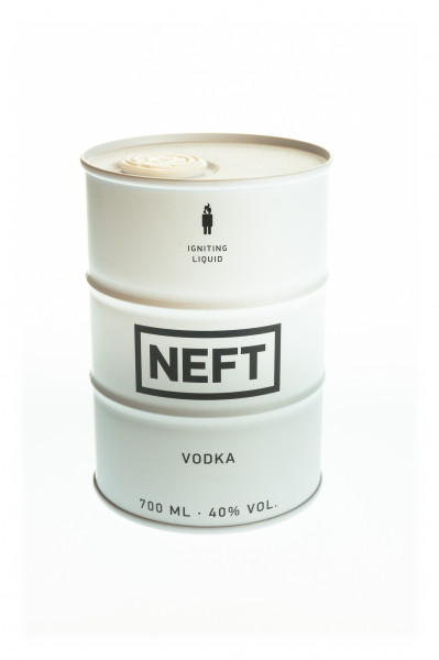 NEFT Vodka White Barrel - 0,7L 40% vol