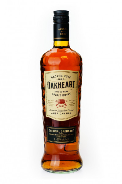 Bacardi Oakheart Smooth & Spiced - 1 Liter 35% vol