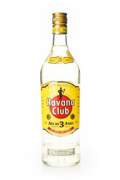 Havana Club Anejo 3 Jahre Rum - 1 Liter 40% vol