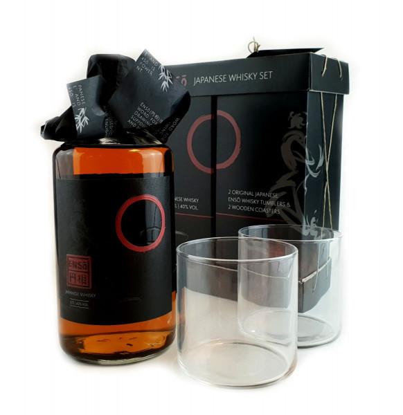 Enso Whisky GEPA mit 2 Tumbler - 0,7L 40% vol