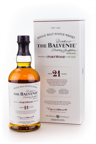 Balvenie 21 Jahre Portwood Single Malt Scotch Whisky - 0,7L 40% vol