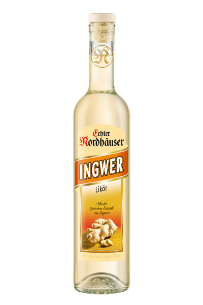 Echter Nordhäuser Ingwer Likör - 0,5L 30% vol