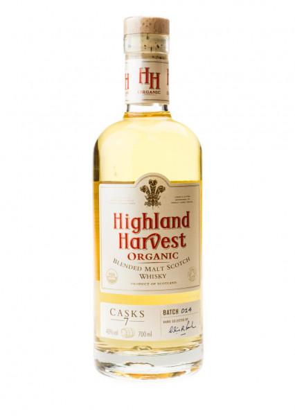 Highland Harvest Organic Scotch Whisky - 0,7L 40% vol