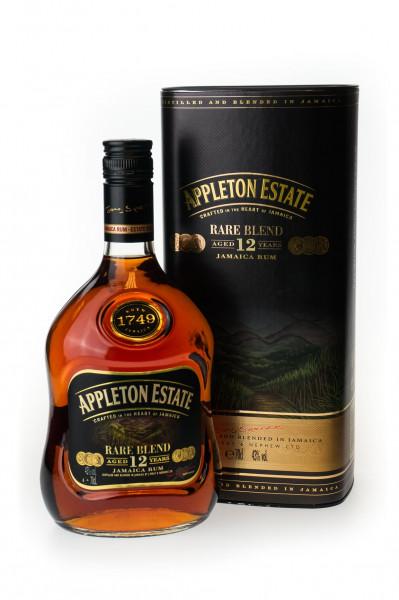 Appleton Estate Rare Blend 12 Jahre Jamaica Rum - 0,7L 43% vol