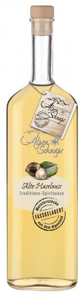 Alpenschnaps Alte Haselnuss Fassgelagert - 1 Liter 41,8% vol