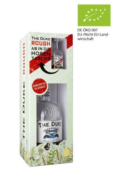 The Duke Gin Onpack + Rough Miniatur BIO - 0,75L 45% vol