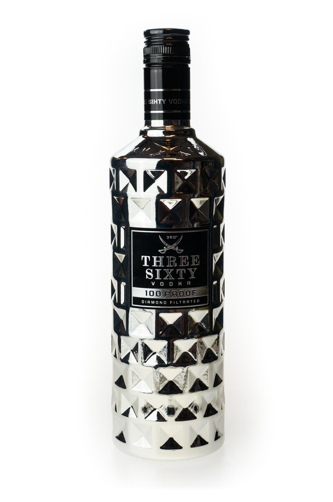 three sixty vodka 100 proof kaufen ab 17 86 eur im. Black Bedroom Furniture Sets. Home Design Ideas