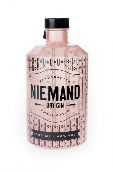 Niemand Dry Gin - 0,5L 46% vol