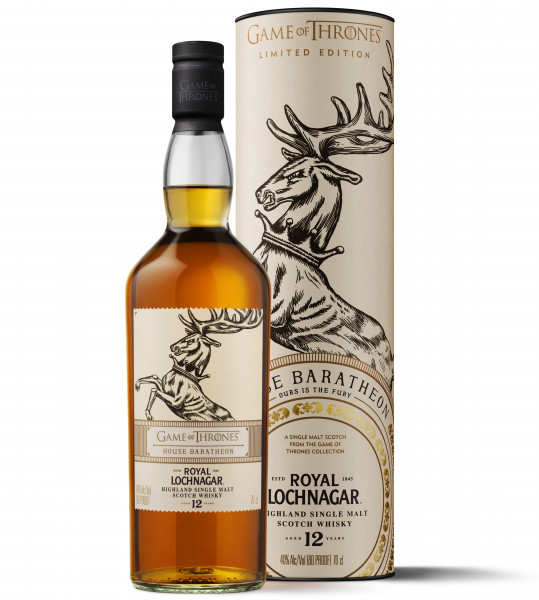 House Baratheon Royal Lochnagar 12 Jahre Single Malt Scotch Whisky - 0,7L 40% vol
