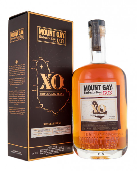 Mount Gay XO Rum - 0,7L 43% vol