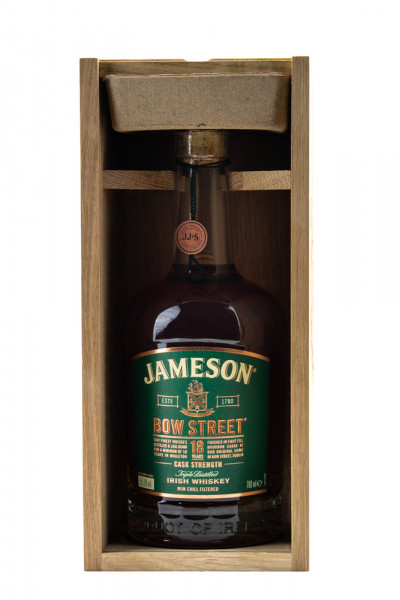 Jameson Bow Street 18 Jahre Cask Strength - 0,7L 54,5% vol