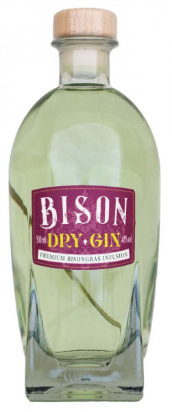 Bison Dry Gin - 0,5L 45% vol