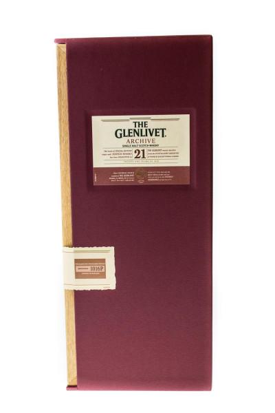 The Glenlivet Archive 21 Jahre Single Malt Scotch Whisky - 0,7L 43% vol