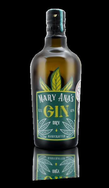 Mary Anas Hanf Gin - 0,5L 42% vol