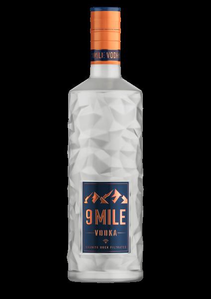 9 Mile Vodka - 1 Liter 37,5% vol