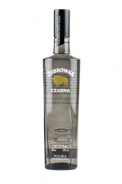 Zubrowka Czarna Black Wodka - 0,5L 40% vol