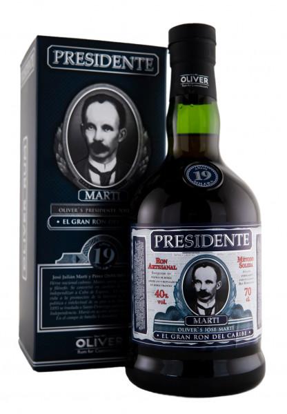 Presidente 19 Jahre Rum - 0,7L 40% vol
