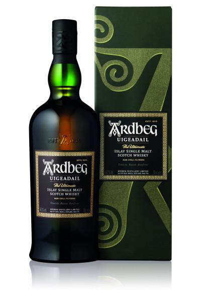 Ardbeg Uigeadail Single Malt Scotch Whisky - 0,7L 54,2% vol