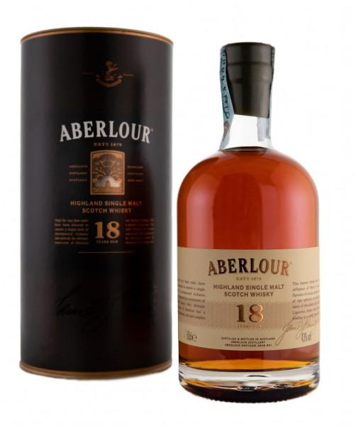 Aberlour 18 Jahre Single Malt Scotch Whisky - 0,5L 43% vol
