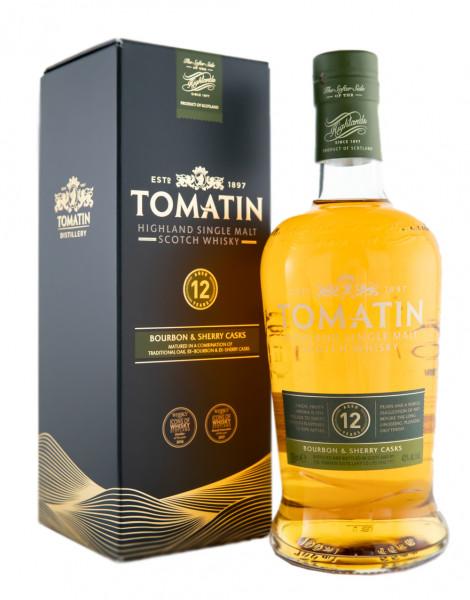 Tomatin 12 Jahre Highland Single Malt Scotch Whisky - 0,7L 43% vol