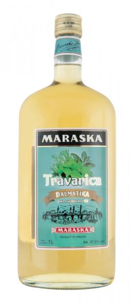Maraska Travarica Tresterbrand - 1 Liter 37,5% vol