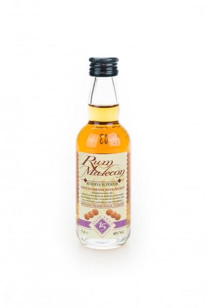 Rum Malecon Reserva Superior Anejo 15 Jahre - 0,05L 40% vol