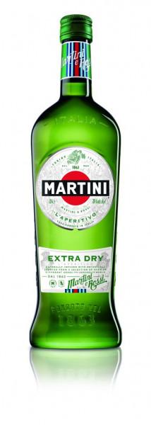 Martini Extra Dry Vermouth - 1 Liter 15% vol