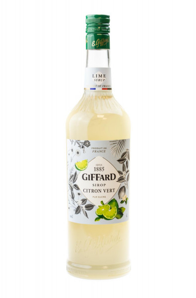 Giffard Limette Sirup Citron Vert - 1 Liter