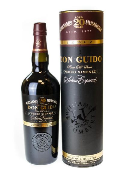Don Guido Solera Especial 20 Jahre Pedro Ximenez Sherry - 0,5L 18% vol