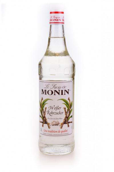 Monin Weißer Rohrzucker Sirup - 1 Liter