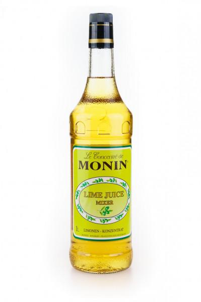 Monin Lime Juice Cordial Mixer Limonen-Konzentrat - 1 Liter