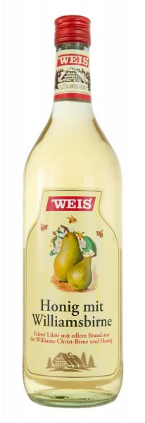 Weis Honig mit Williams-Christ Birne Likör - 1 Liter 32% vol