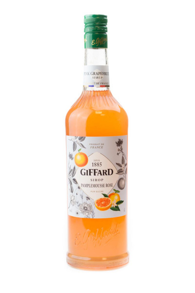 Giffard Pink Grapefruit Sirup Pampelmousse Rose - 1 Liter