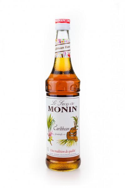 Monin Caribbean Rum-Flavour Sirup - 0,7L