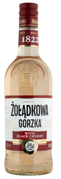 Zoladkowa Gorzka Black Cherry - 0,5L 30% vol