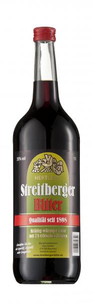 Hertleins Streitberger Bitter - 1 Liter 35% vol