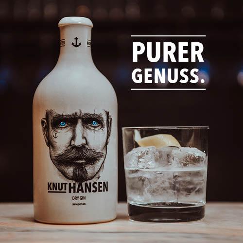 Knut Hansen Dry Gin (0,5L)