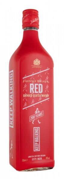 Johnnie Walker Red Label 200 Jahre Limited Edition - 0,7L 40% vol