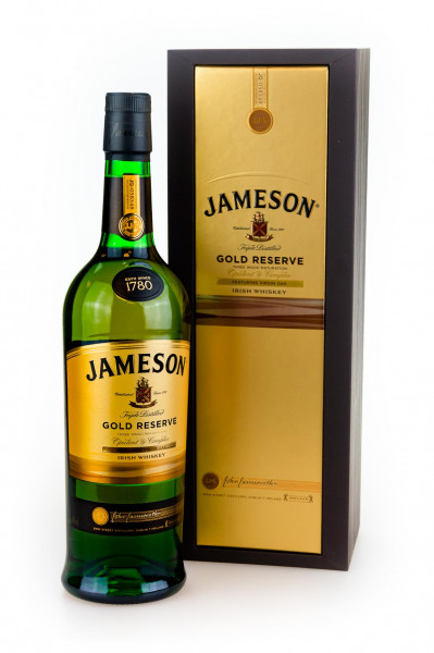 Jameson Gold Reserve Irish Whiskey - 0,7L 40% vol