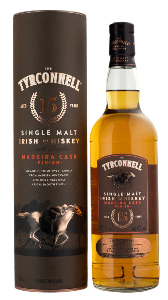 Tyrconnell 15 Jahre Madeira Cask Finish Irish Whiskey - 0,7L 46% vol
