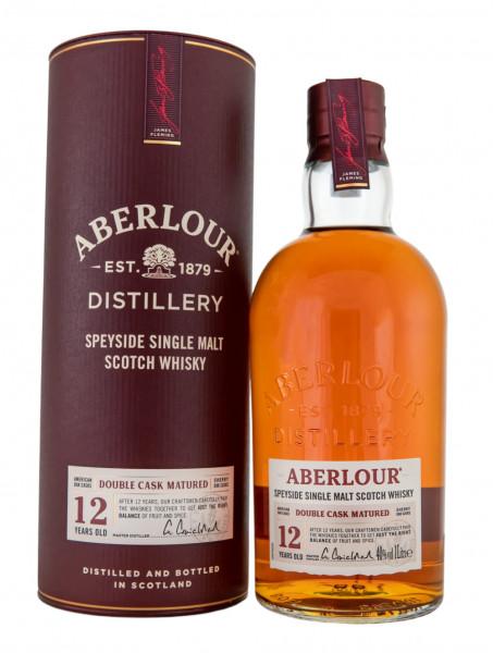 Aberlour 12 Jahre Double Cask Matured Highland Single Malt Scotch Whisky - 1 Liter 40% vol
