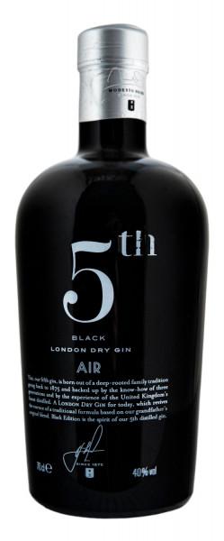 5th Air Black London Dry Gin - 0,7L 40% vol