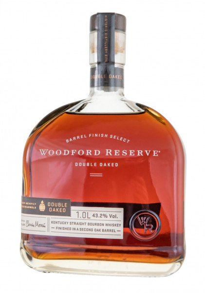 Woodford Reserve Doubled Oaked Kentucky Straight Bourbon Whiskey - 1 Liter 43,2% vol