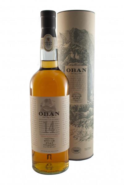 Oban 14 Years Scotch Single Malt Whisky - 43% vol - (0,7L)